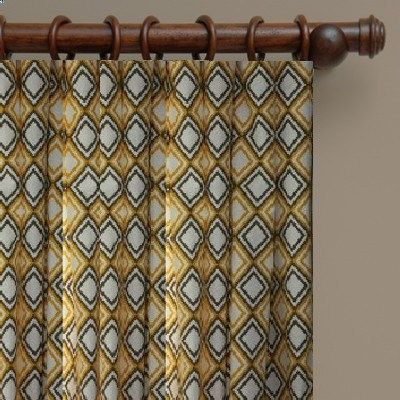 Annie Diamond>>SALE  Print Curtains Drapes Custom Made Large Diamonds print drapes