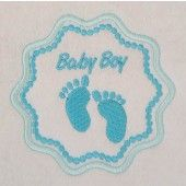 I found this Embroidery Design for only: $4.00 on aStitchaHalf.com! Applique Badges Pink Foot will be a Beautiful addition to the next Baby Shower. Make a Baby Mobile or simply decorate their tiny clothes and accessories with these designs.You Receive:3 x Designs (Applique)Stitch Count:6588 to 7030