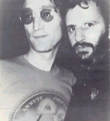 We previously did a story about John Lennon And Paul McCartney Last Photo Together. We recently found this undated photo taken at The Dakota building in New York CIty that claims to be the last photo of John Lennon and Ringo Starr together...