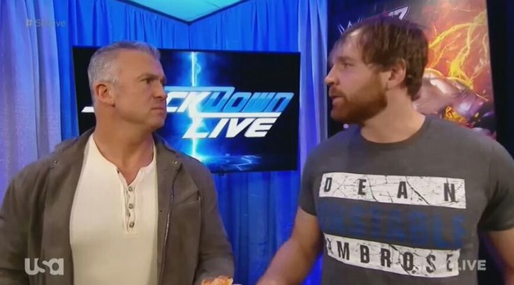 Dean Ambrose & Shane McMahon