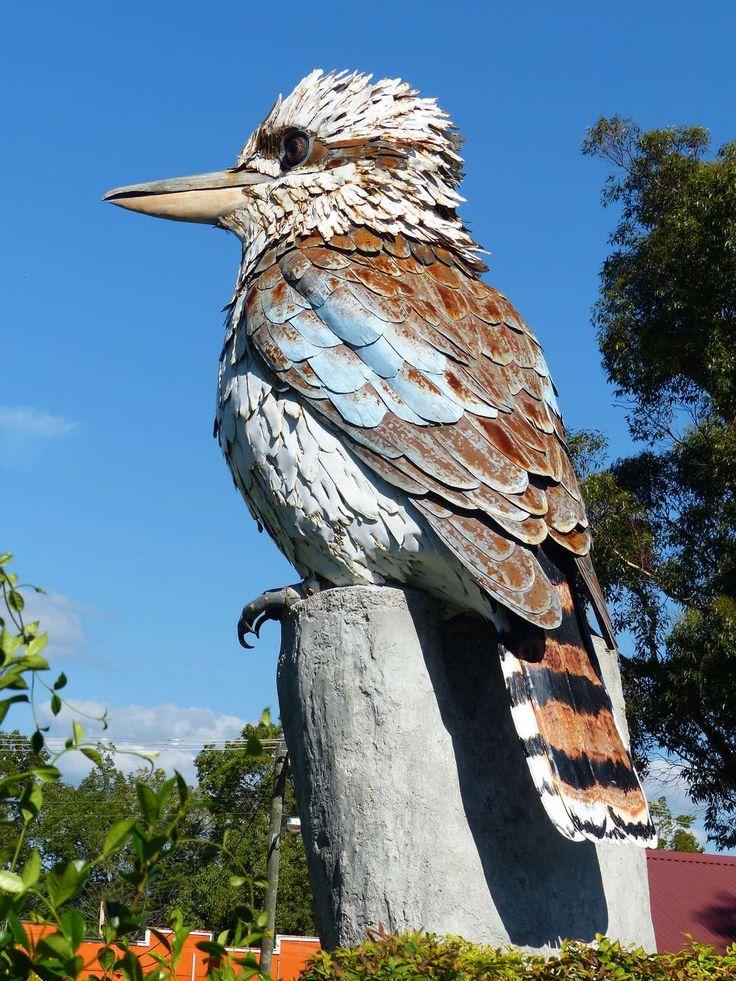 #AustraliaItsBig - Big Kookaburra, Kurri Kurri NSW #Australia