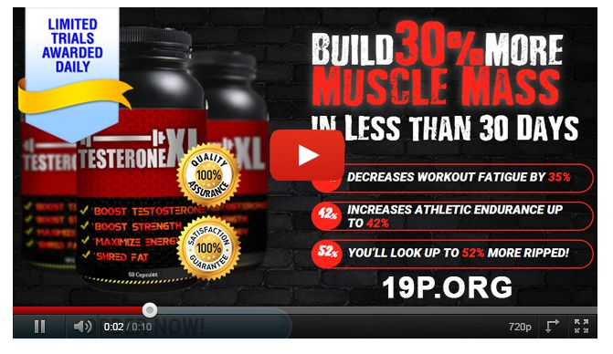 Testerone XL Free health and bodybuilding supplement