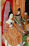 Joan II, Countess of Burgundy (1292 - 1330). Queen of France from 1316 - 1322. She was married to Philippe V and had four daughters who survived infancy.