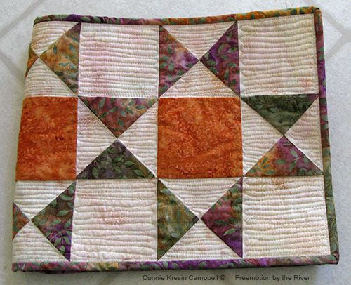 144 best Quilting Free Motion Quilting images on Pinterest | Free ... : ohio star quilt pattern free - Adamdwight.com