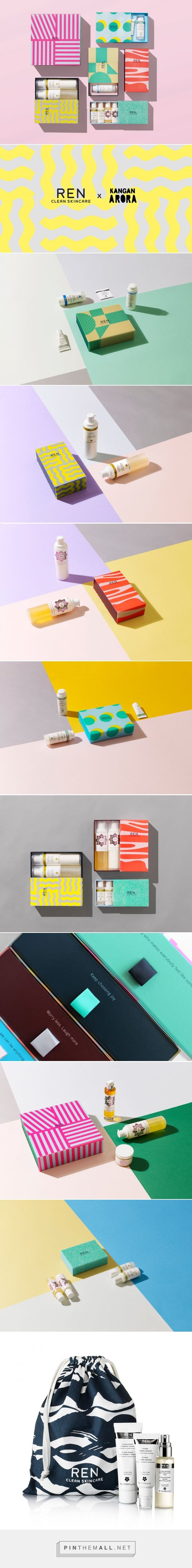 Kangan Agora for REN Skincare Christmas Package  / Designed by Kangan Arora in Collaboration with REN Skincare