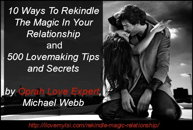 tips to rekindle your relationship