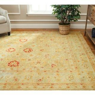 Safavieh Handmade Majesty Light Brown/ Beige Wool Rug   7u00276 X 9u00276. Living Room  RugsDining ...