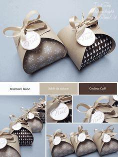 Djudi'Scrap: Boîte à Souvenirs Arrondie pour Noël, Ballotin de Chocolats...