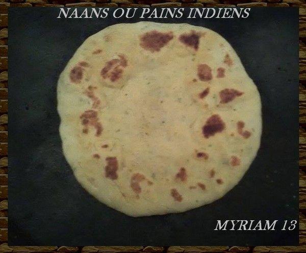 Pain Indien Ou Naans Nature
