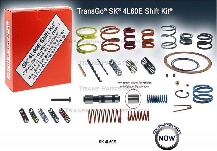 TransGo 4L60E 4L65E SK4L60E Shift Kit W PWM Valve Fix  P1870 Code GM 74165ET…
