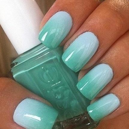 ombre fingernails - Google Search
