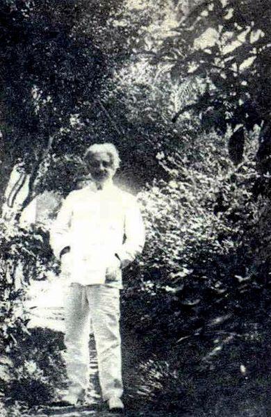 Última foto de Oswaldo Cruz em sua casa em Petrópolis, 1916