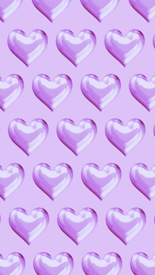 Purple Hearts Heart Wallpaper Pink Wallpaper Holiday Wallpaper