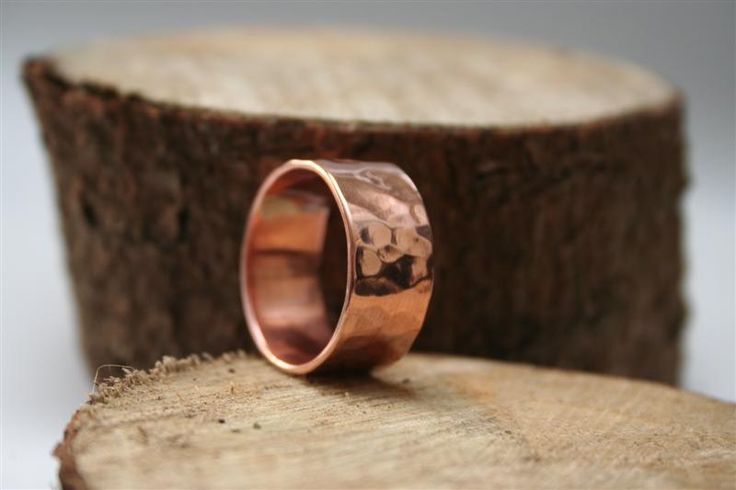 Hammered Copper Ring | Felt