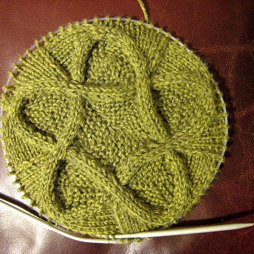 Amazing,  knit on circular needles