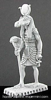 Dark Heaven Legends > Sobek Statue    Reaper Miniatures :: Miniatures