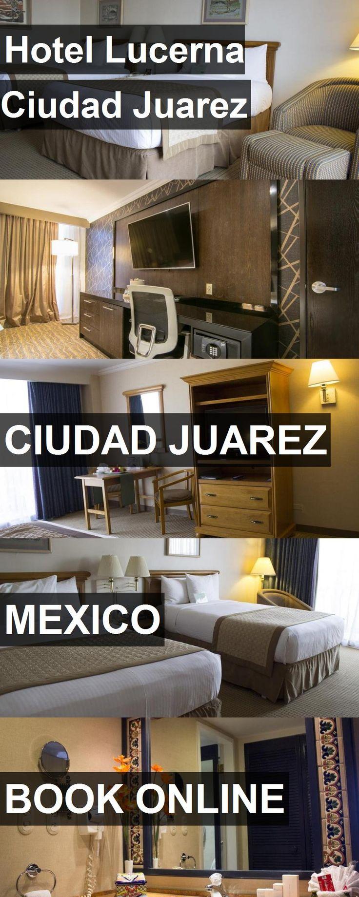 Hotel Lucerna Ciudad Juarez in Ciudad Juarez, Mexico. For more information, photos, reviews and best prices please follow the link. #Mexico #CiudadJuarez #travel #vacation #hotel