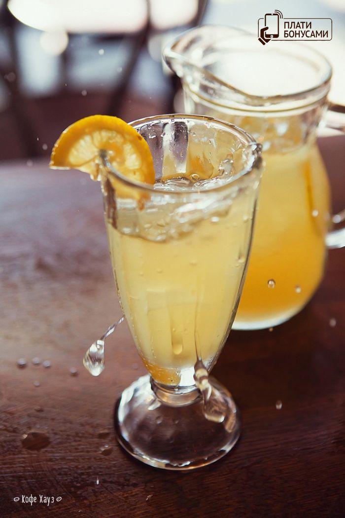 Освежающий, лимонно-имбирный) #лимонад   #кофехауз   #прохлада  #ice #drinks