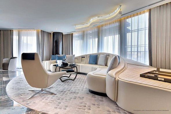 Wimberly interiors unveils bentley suite in st regis istanbul