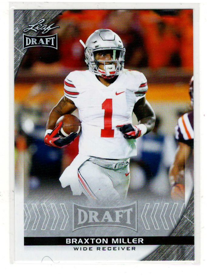 Sports Cards Baseball – 2016 Leaf Draft Rookie Braxton Miller – Free Shipping