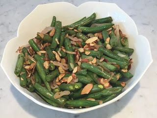 Clear-Conscience Comfort Food: Green Beans Almondine