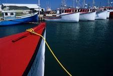 Port de pêche aux Îles de la Madeleine