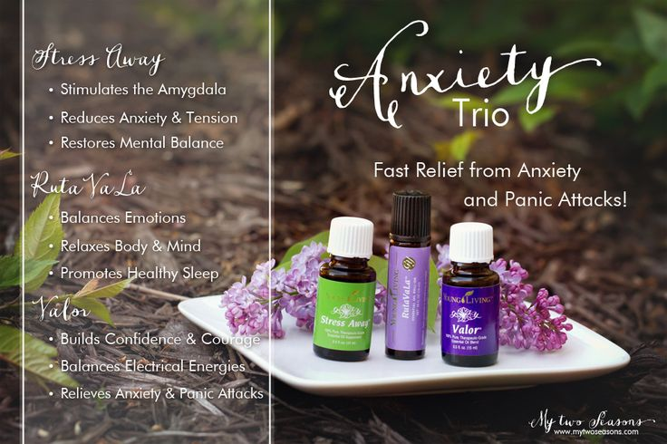 Anxiety Trio | Young Living Essential Oils