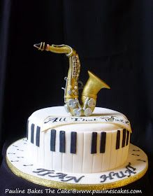 PAULINE BAKES THE CAKE!: Saxophone for a Jazz Music Lover