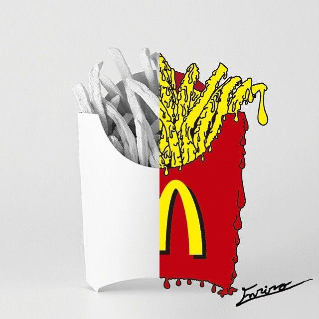 MCDONALD'S  ACYD Arte Creativo Y Diseño  #Enriro #Diseño #Arte #Ilustracion #Digital #Publicidad #Marca #Creativo #Creatividad #Cartel #Color #Dibujo #art #artproject #Project #Design #Creativity #Illustration #Brand #draw #Drawing #Wacom #Paint #Illustrator #Photoshop #Advertising #Campaign #Poster #style