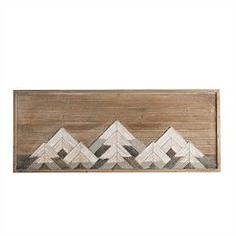 ranges wooden artwork
