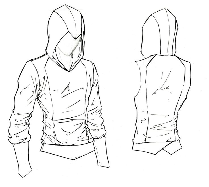 Assassin Beaked Hoodie. Something simple, with a nice ...