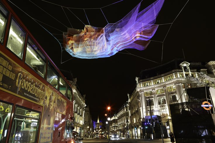 1.8 London, Janet Echelman, Lumiere London 2016. Image © Matthew Andrews.