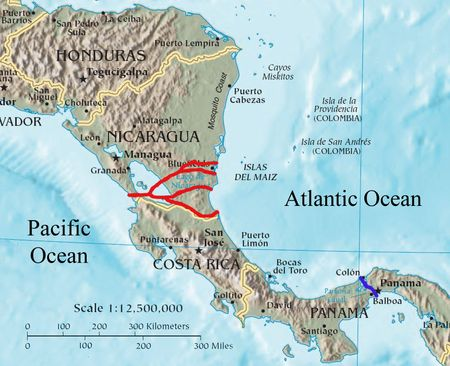 Nicaragua Canal - Wikipedia, the free encyclopedia