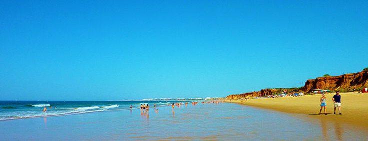 One of my favourite beaches in Portugal - Praia da Falesia, Albufeira, Algarve