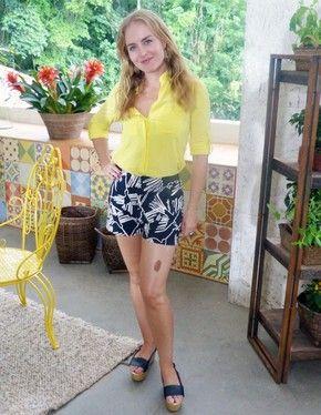 Angélica posa com o look para as lentes do Gshow (Foto: Paula Fadul/TV Globo)