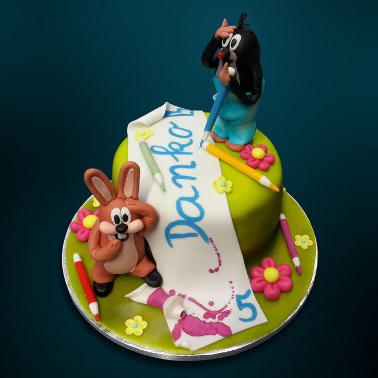 O tom, ako zajačik krtkove dielo zničil / How the rabbit mole's painting destroyed