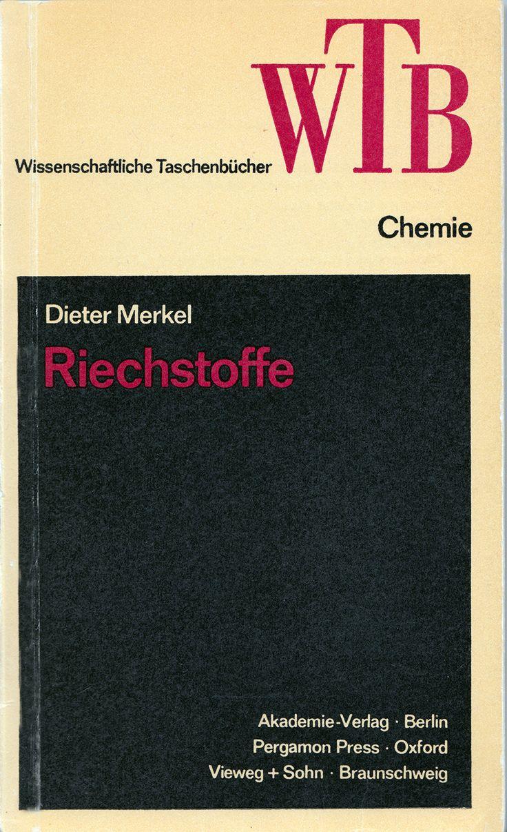 Dieter Merkel, Riechstoffe, Vieweg, Braunschweig, 1972, 178 S. ISBN-10: 3-528-06090-5