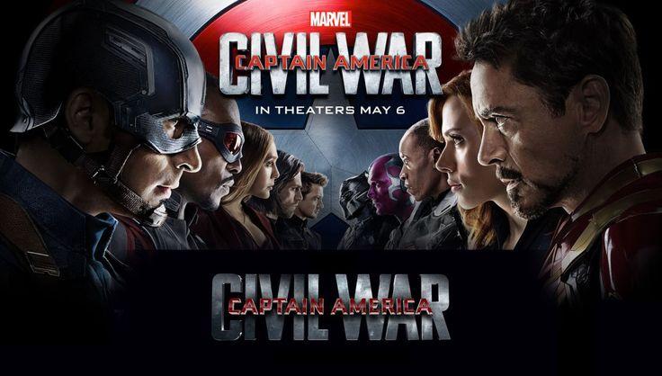 Film Aksi Captain Amerika: Civil War Movie