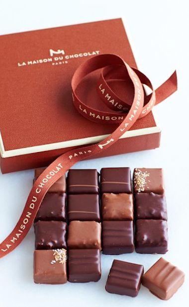 La Maison Du Chocolat assorted pralines http://rstyle.me/n/kmnkhr9te