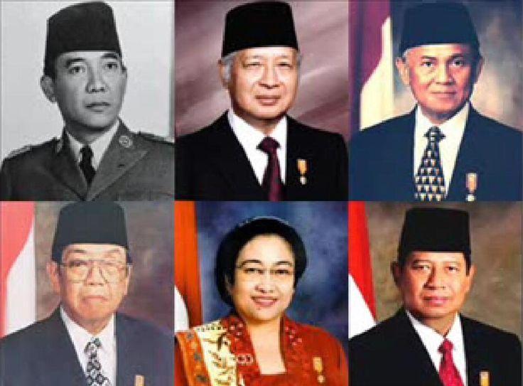 Presiden Pertama Indonesia Sampai Sekarang