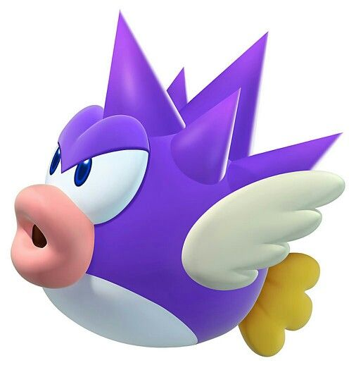 mario and friends and family spiny cheep cheep