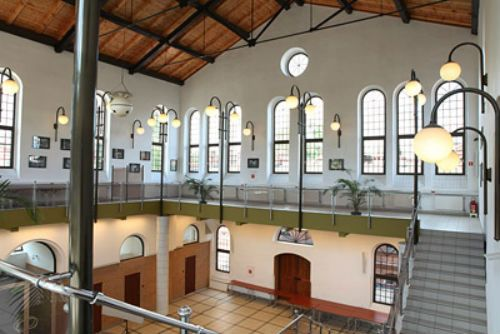 Former Gas Measuring and Compressor Station, currently unusual meeting/conference space, Warsaw, Poland