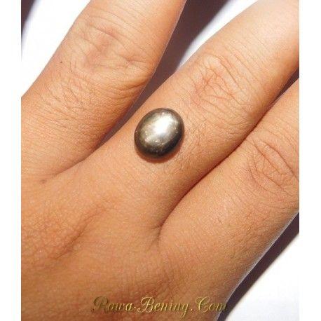 Batu Mulia Asli Black Star Sapphire 6.80 Carat