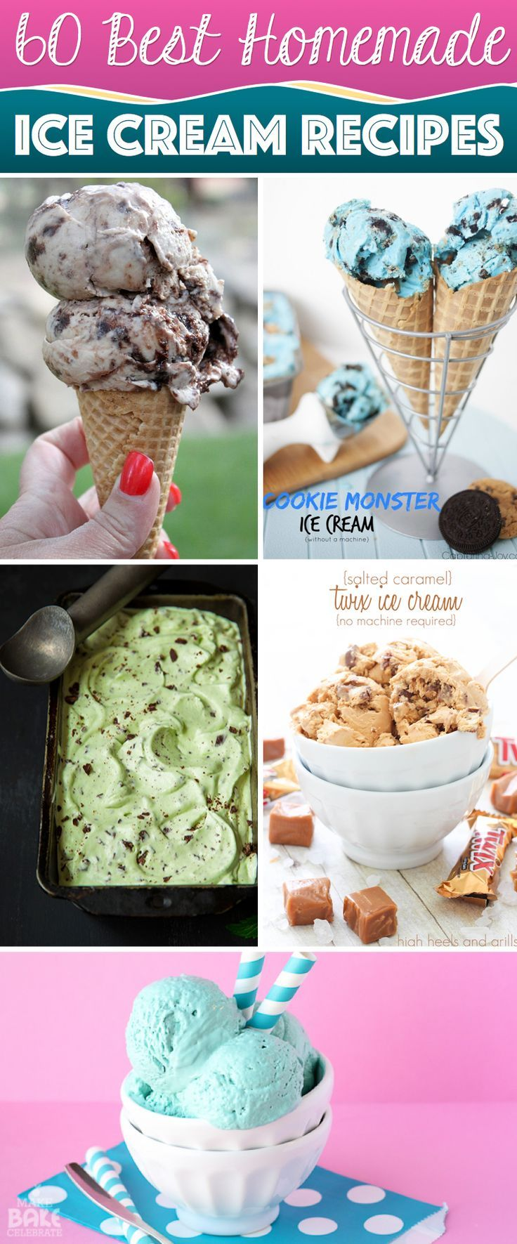 60 Easy Homemade Ice Cream Recipes Bringing Sweet Freshness to Your Day   See more diy videos: gwyl.io/