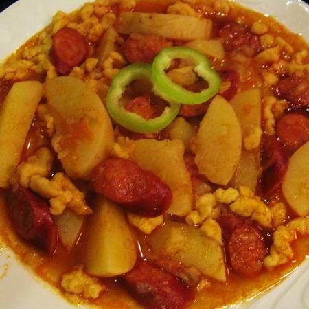 Paprikás krumpli nokedlivel Recept képekkel - Mindmegette.hu - Receptek