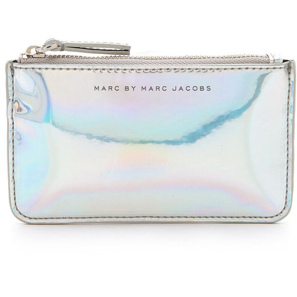 Marc by Marc Jacobs Techno Key Pouch found on Polyvore