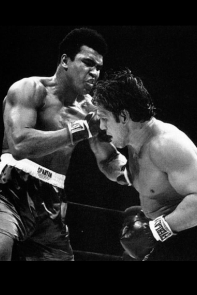"Mohammed Ali vrs Oscar ""Ringo"" Bonavena"