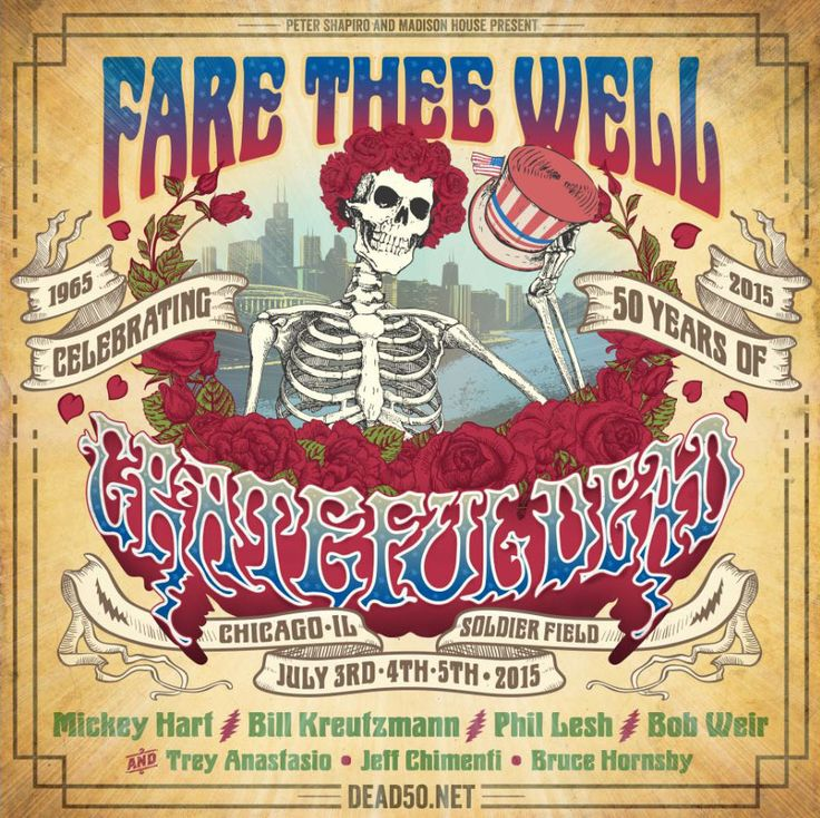 Grateful Dead 50th Anniversary | Grateful Dead  Making my Fourth of July plans with the family!