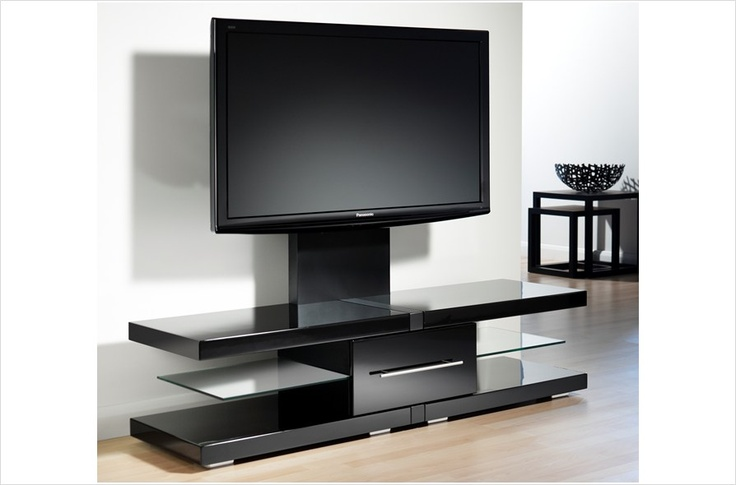 http://www.tvstandsnow.com/ This deluxe, multi-level component stand features spacious shelving providing ample room for a variety of A/V components, DVDs and other media accessories. The powder-coated metal frame and thick, beveled tempered glass shelves add to the distinctive look while offering a solid and sturdy design.