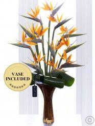 Luxury Strelitzia Vase
